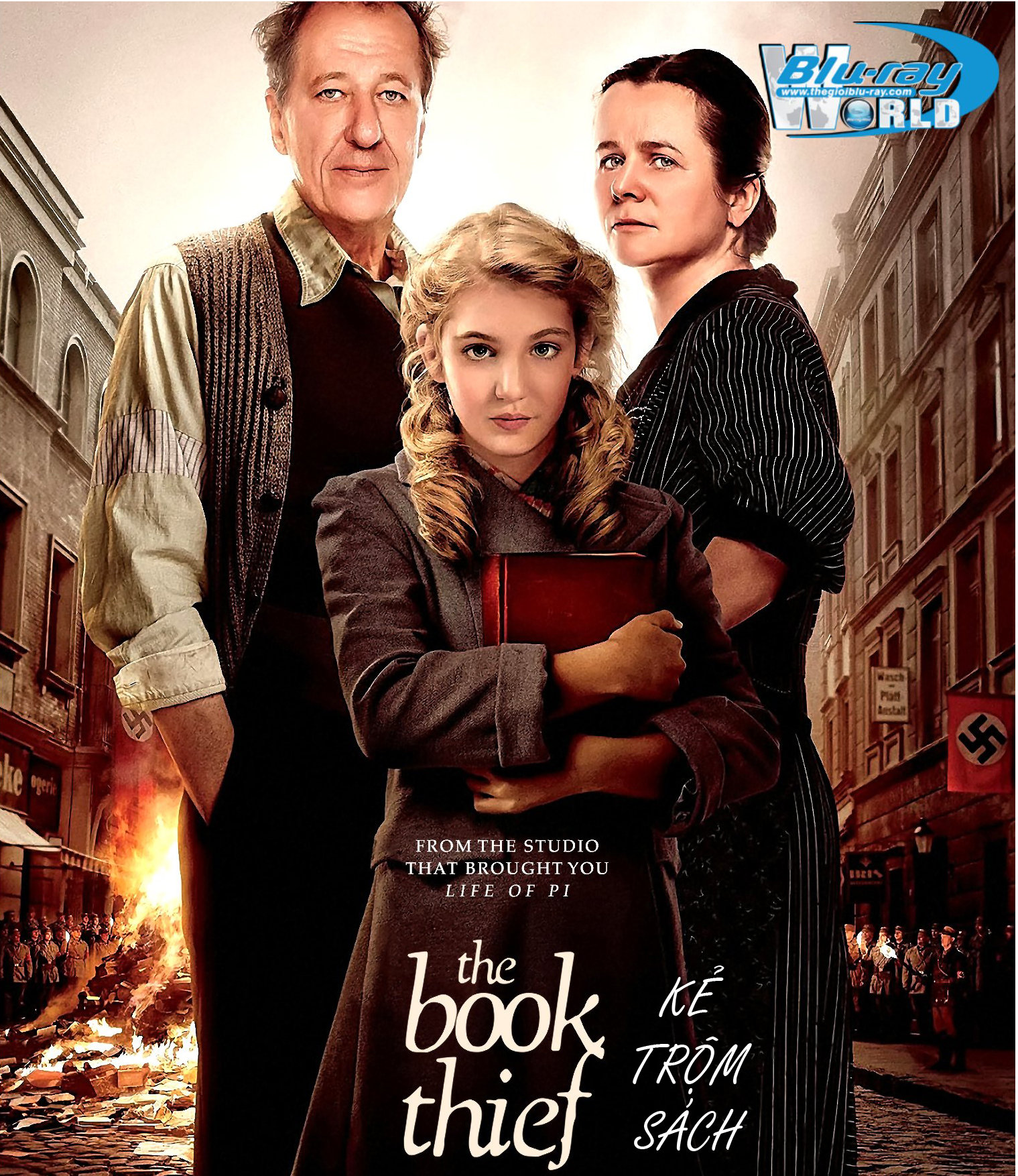 B1644. The Book Thief 2014 - KẺ TRỘM SÁCH 2D 25G (DTS-HD MA 5.1)
